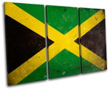 Abstract Jamaican Maps Flags - 13-1171(00B)-TR32-LO